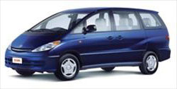 Group V - Toyota Previa Van or similar