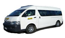 (Group I) Toyota HiAce or Similar